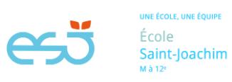 Ecole Saint-Joachim logo