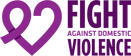 Fight Against Domestic Violence logo